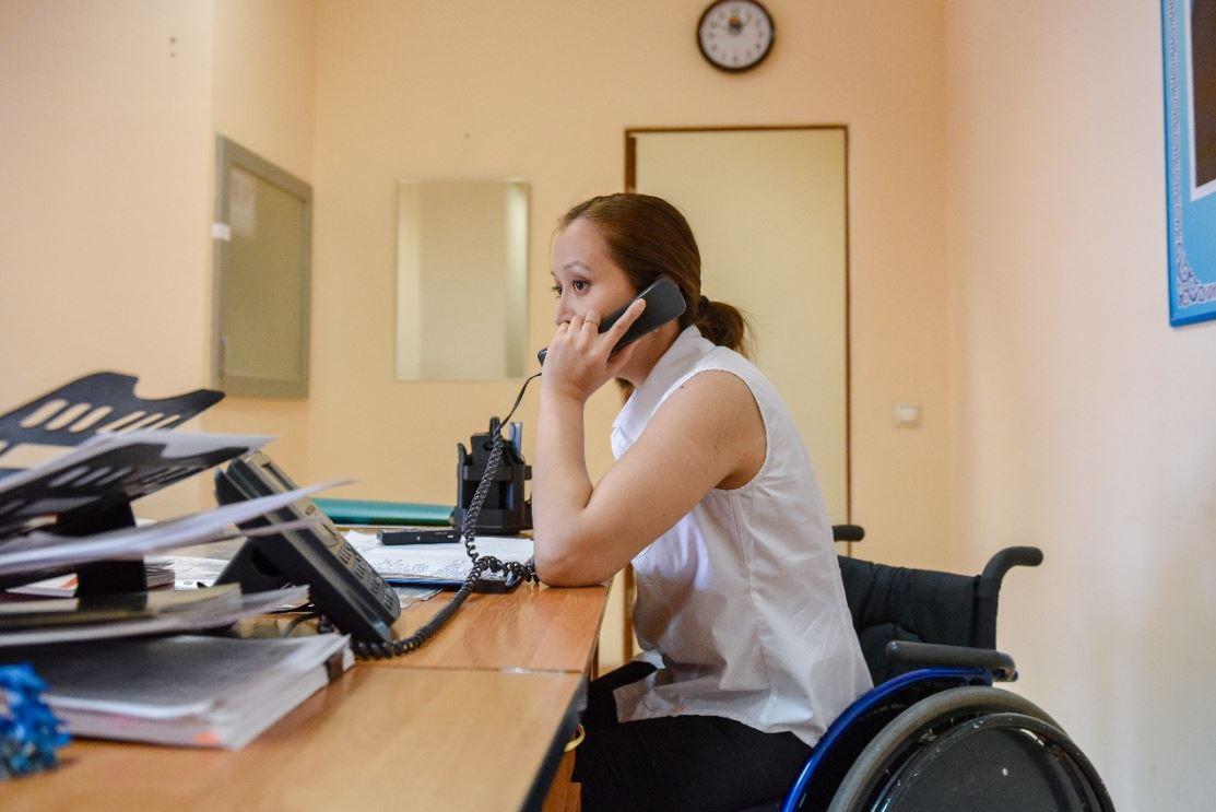 В каких сферах желают работать лица с ограниченными возможностями в Казахстане,  НПП «Атамекен», лица с ограниченными возможностями, акимат, Работа