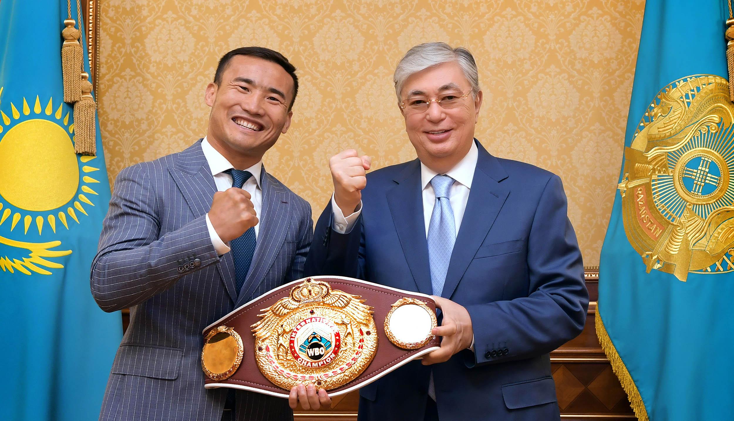 Президент Казахстана принял Каната Ислама