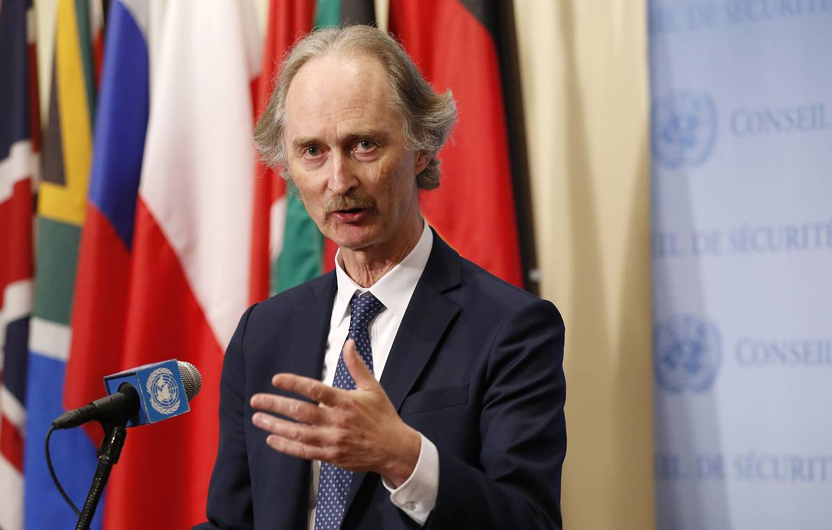 ЕС поддержал призыв спецпредставителя ООН о прекращении огня в Сирии