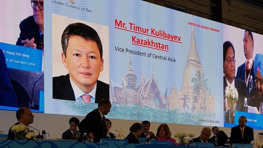 Глава НОК РК переизбран вице-президентом Олимпийского совета Азии, НОК РК , Национальный олимпийский комитет, Тимур Кулибаев, Спорт