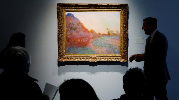 Суретшінің картинасы 110,7 миллион долларға сатылды, картина, бәссауда, Клод Моне
