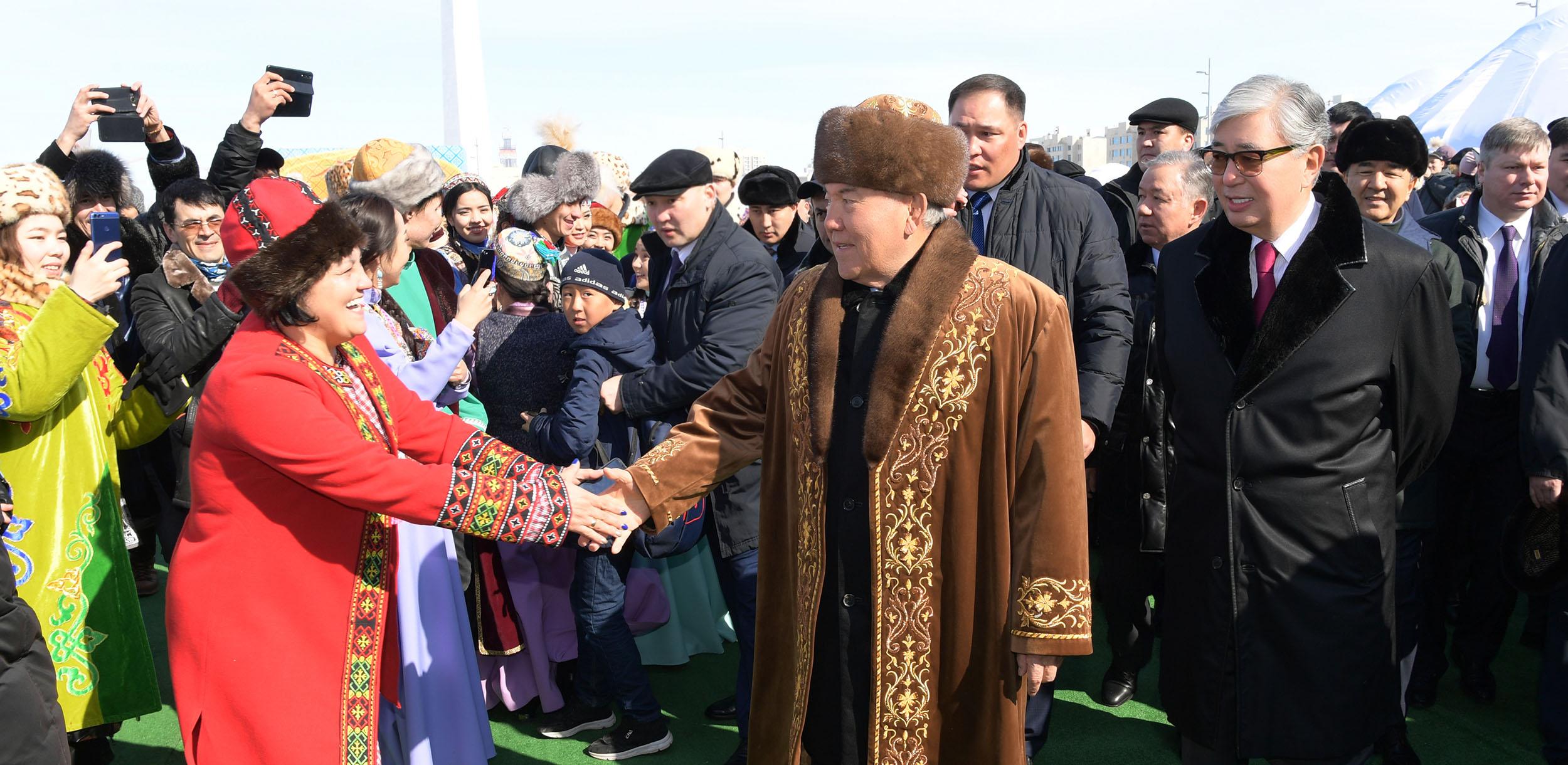 Нурсултан Назарбаев и Касым-Жомарт Токаев отпраздновали Наурыз мейрамы