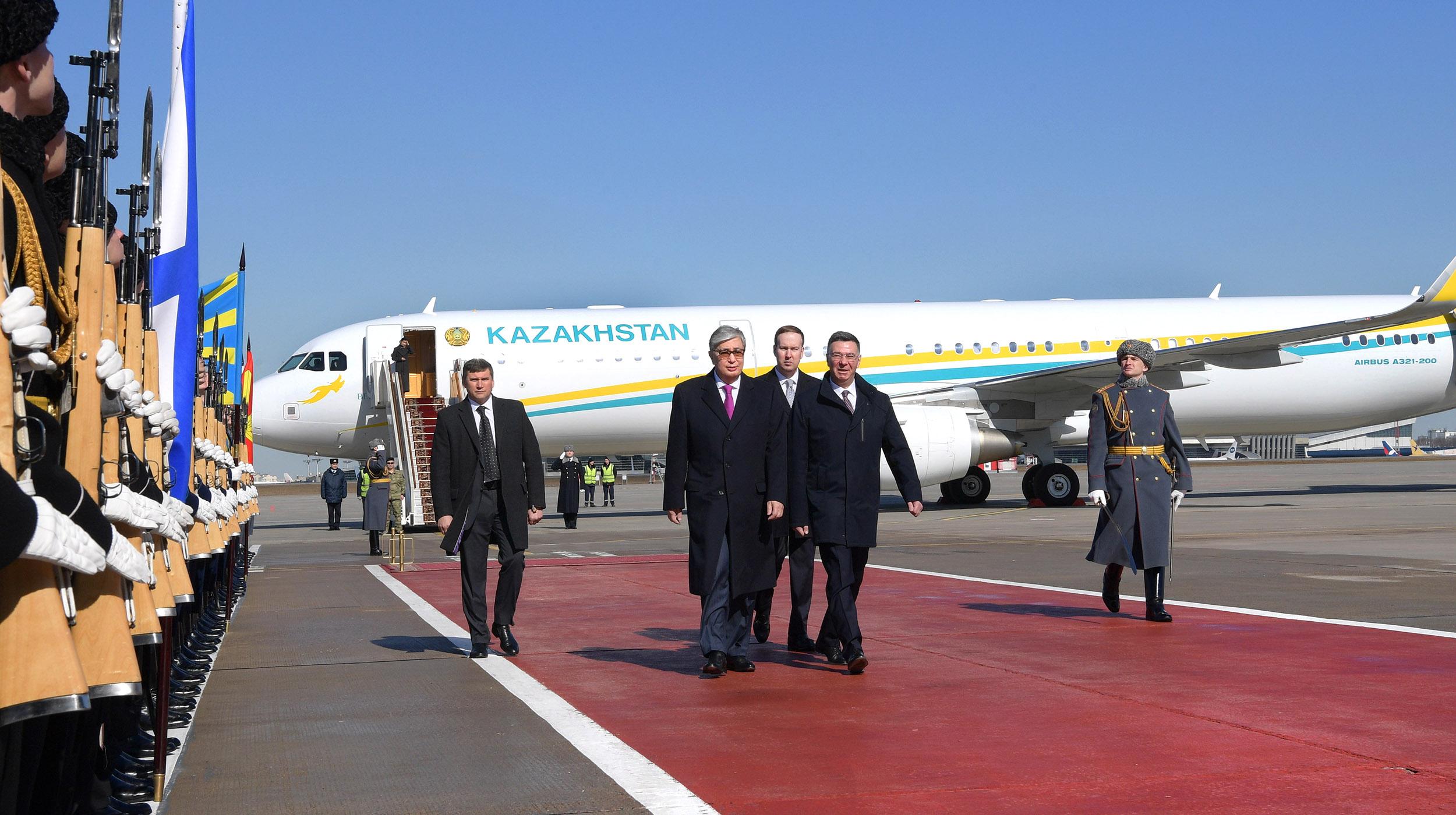 Касым-Жомарт Токаев назвал эталонными российско-казахстанские отношения