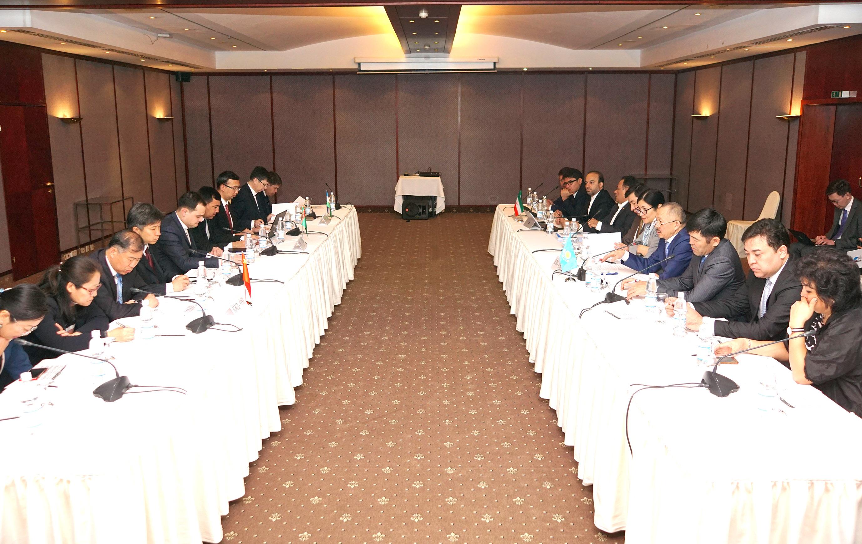 Узбекистан присоединился к ж.-д. коридору Китай – Казахстан – Туркменистан – Иран