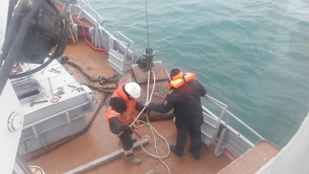 Навигация прекращена в казахстанской акватории Каспийского моря
