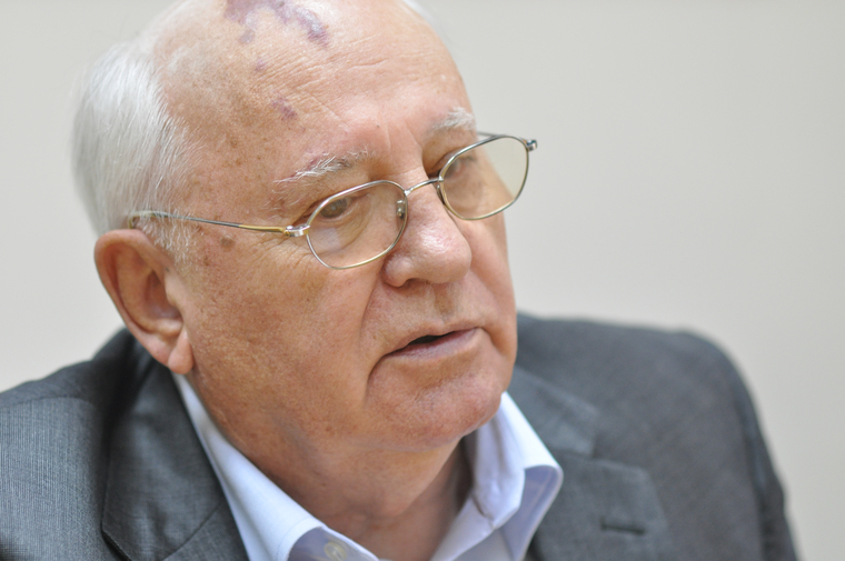 Назарбаев поздравил Горбачёва с юбилеем