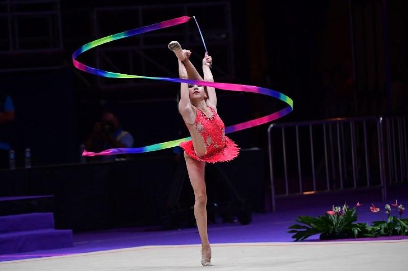 Астанада көркем гимнастикадан жастар арасындағы Қазақстан біріншілігі аяқталды