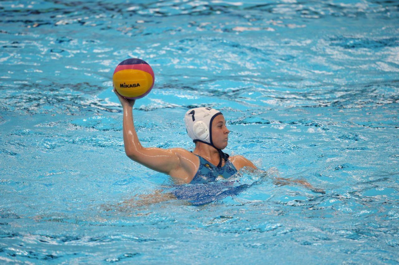 Мировая лига по водному поло: женская команда РК стартовала с победы