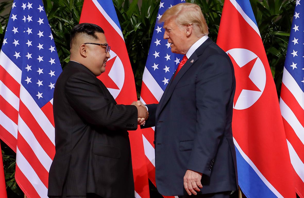 Бүгін Дональд Трамп пен Ким Чен Ын кездеседі