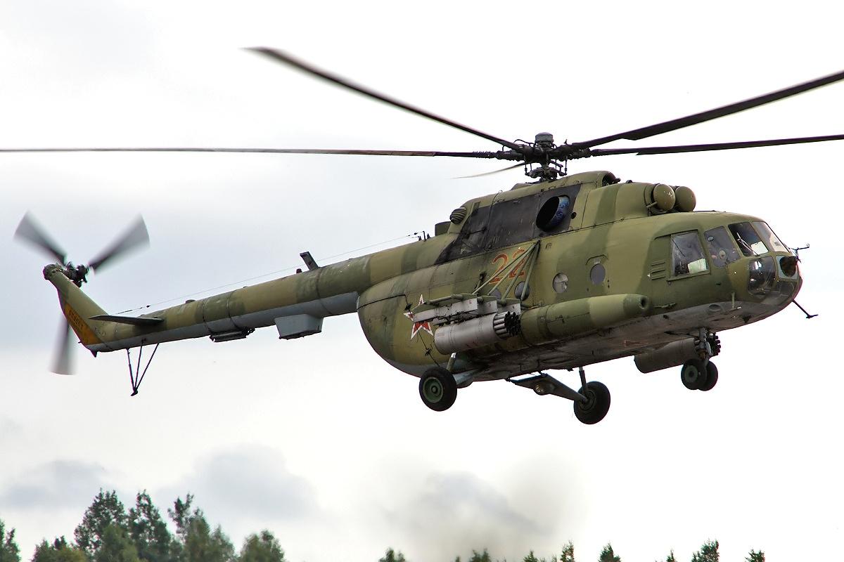 Вертолет российских силовиков случайно залетел в воздушное пространство Казахстана