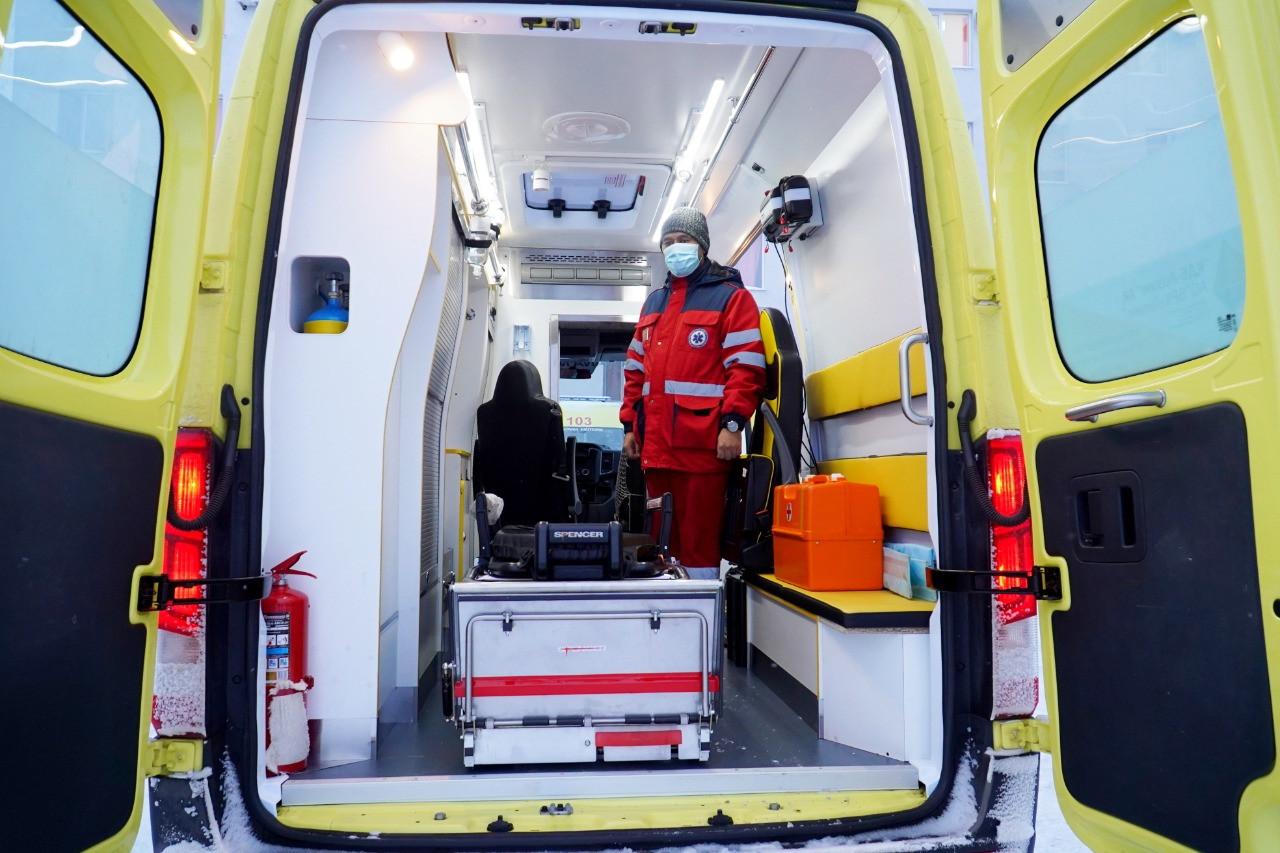Еще 17 реанимобилей поступило на станцию скорой медпомощи Нур-Султана