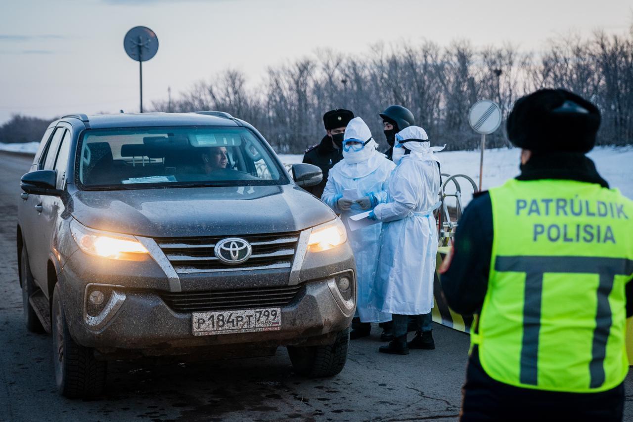 Нұр-Сұлтанда көшеге себепсіз шыққаны үшін 164 адам учаскеге жеткізілді
