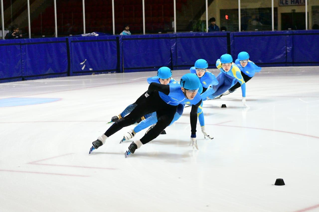 В Астане завершился чемпионат Казахстана по шорт-треку