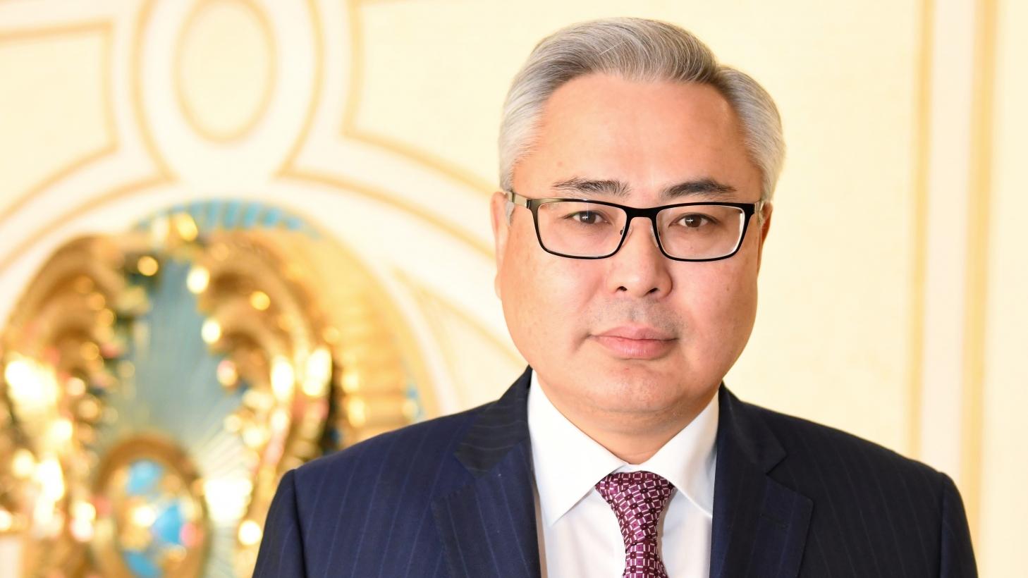Асқар Мамин ҚР премьер-министрі кеңсесінің жаңа басшысын таныстырды