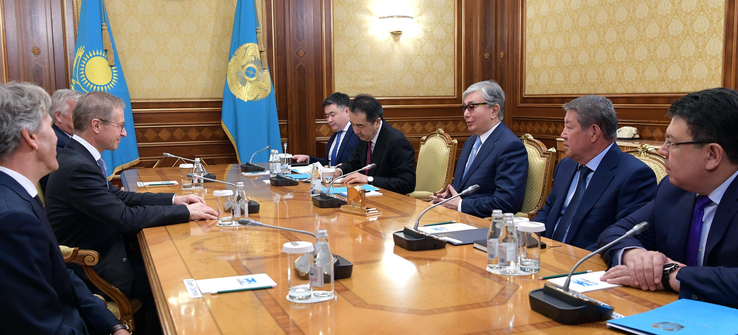 Касым-Жомарт Токаев обсудил с главой Borealis проекты компании в Казахстане