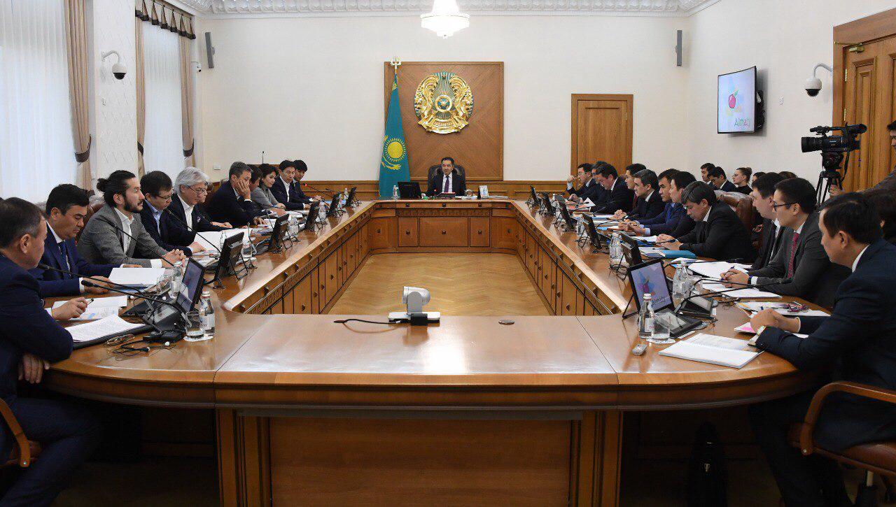 Бизнесмендер Алматыны дамыту мәселелерін талқылады