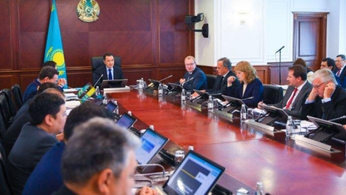Бакытжан Сагинтаев провёл заседание Международного экспертного совета по цифровизации, Бакытжан Сагинтаев, Заседание, Международный экспертный совет по цифровизации