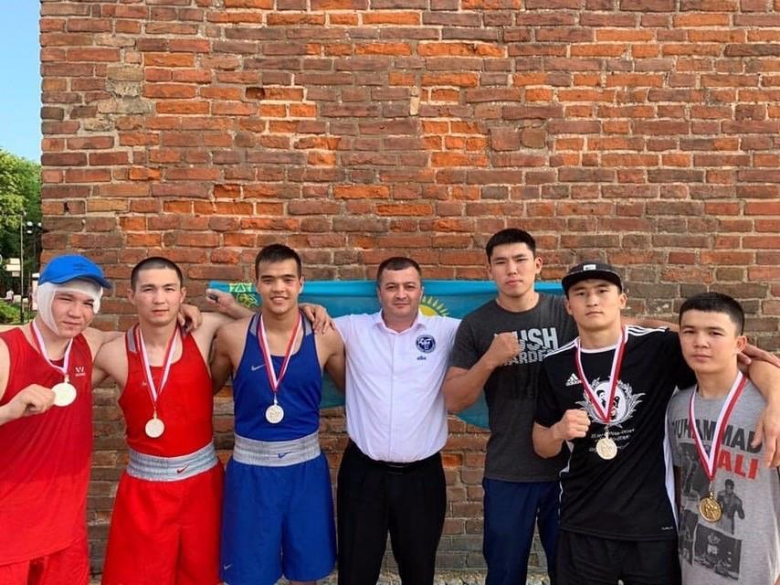 Боксеры РК завоевали пять медалей на международном турнире в Польше