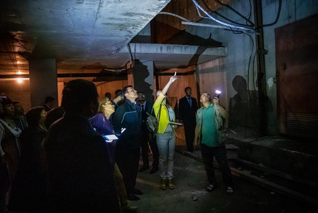 Нұр-Сұлтан қаласының әкімі «Территория Комфорта-2» тұрғын үй кешеніне барды