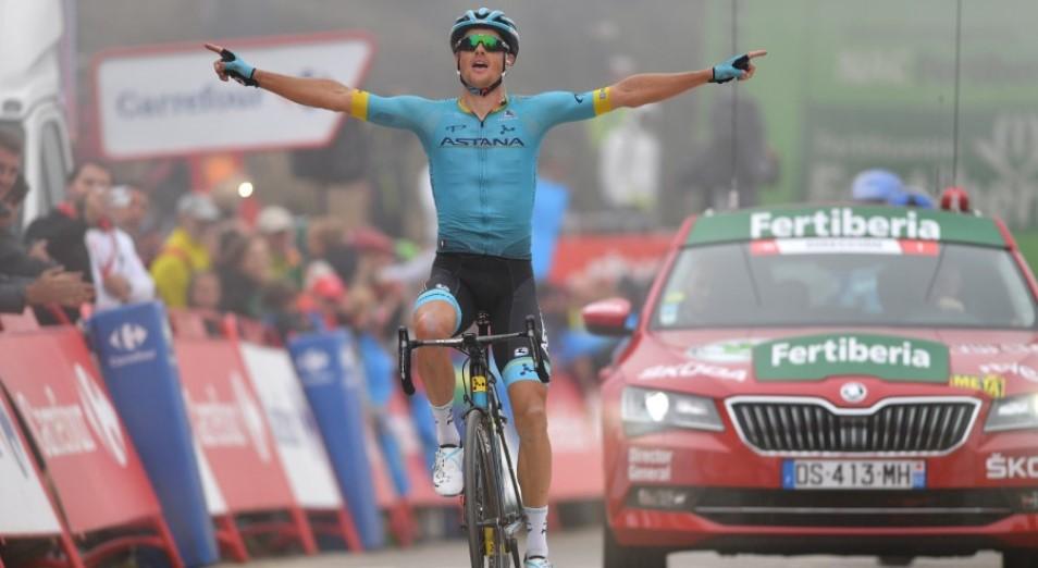 «Вуэльта Испании»: Фульсанг впервые выигрывает этап Гранд-тура