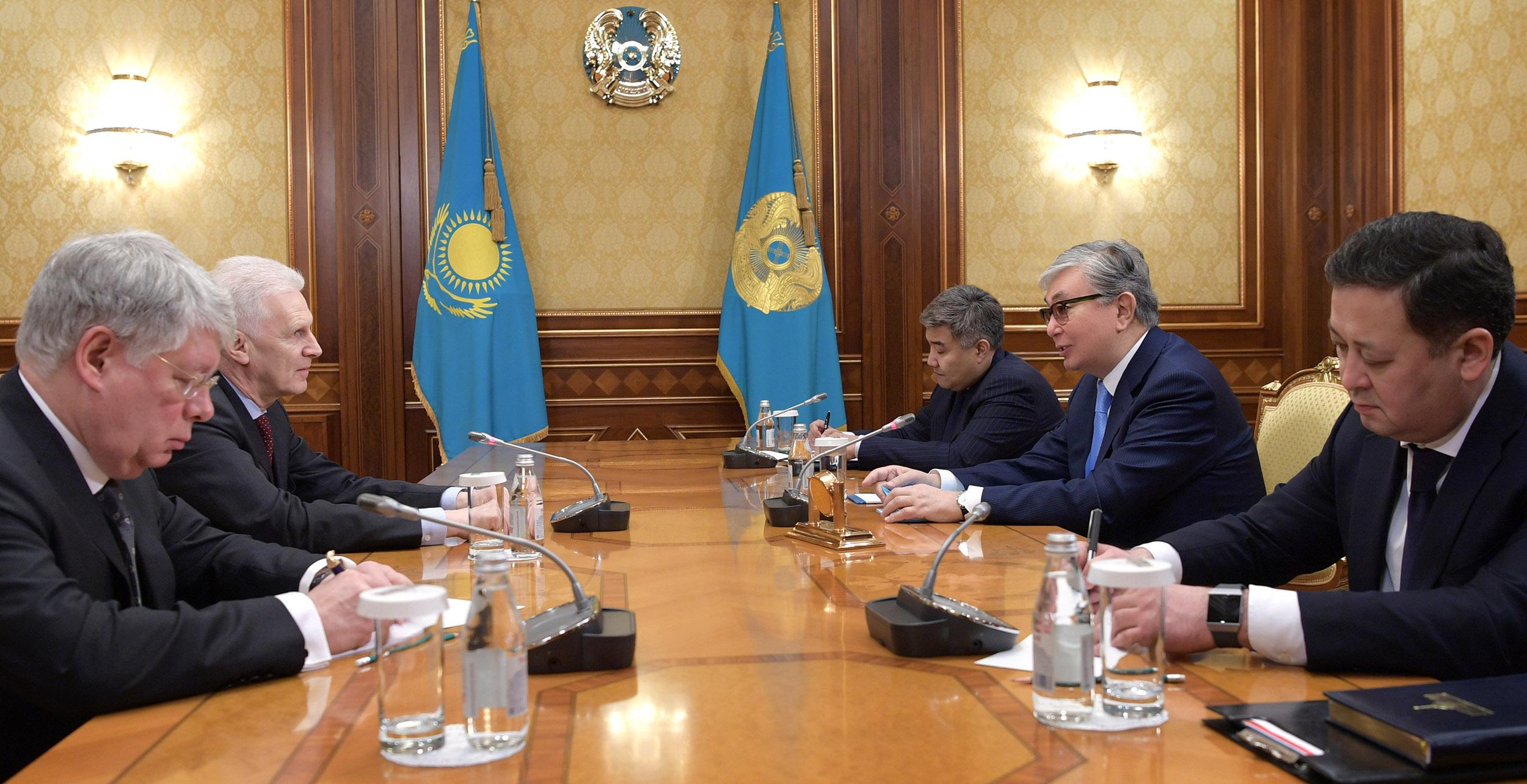 Президент РК планирует придать импульс развитию двустороннего сотрудничества с РФ