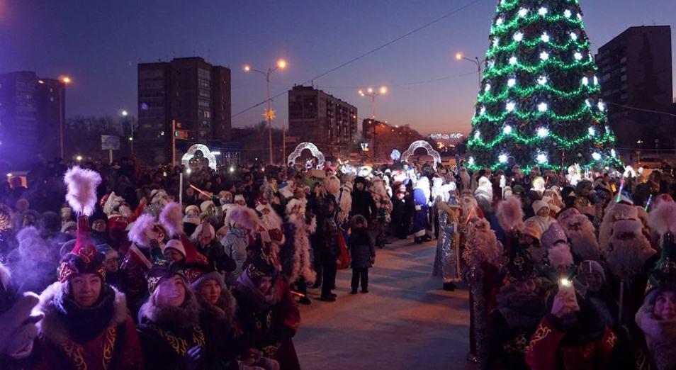 Руководство Темиртау встретит Новый год в толще народной