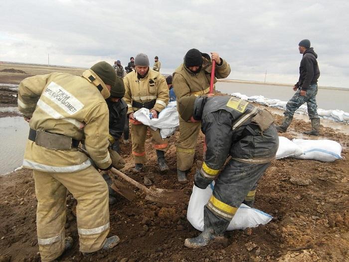 Паводковая обстановка в Карагандинской области стабилизирована