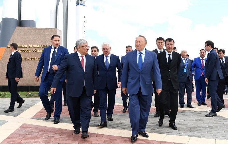Казахстан становится полноценной космической державой – Назарбаев