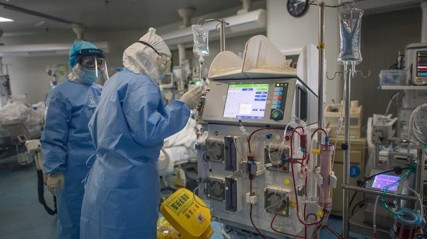 Число жертв коронавируса в мире превысило 33 тысячи человек