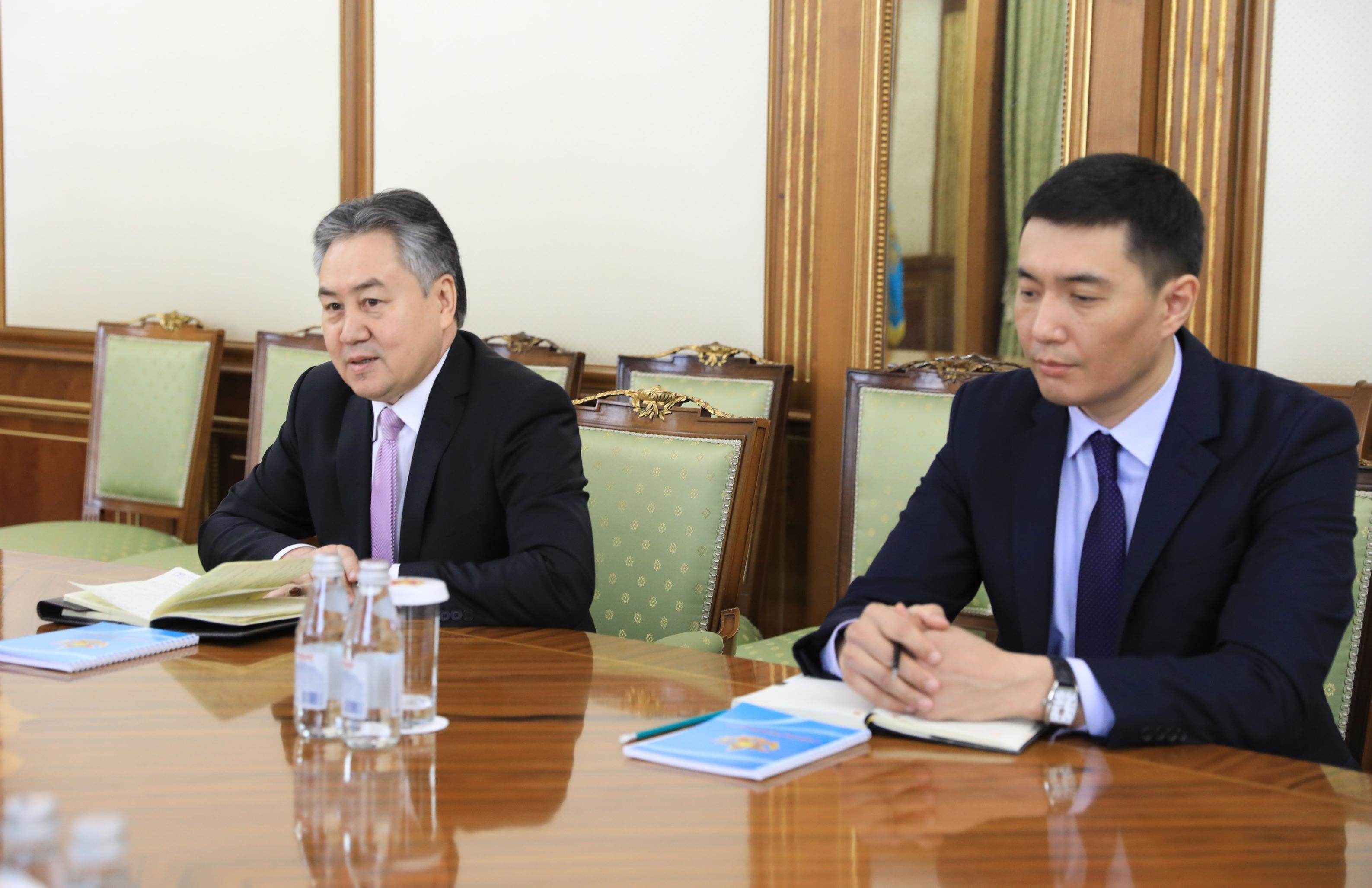 Казахстан и Кыргызстан обсудили вопросы взаимодействия в сфере обороны