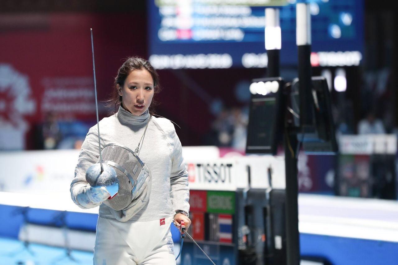 В Алматы завершились соревнования у женщин по фехтованию на саблях в рамках Спартакиады РК