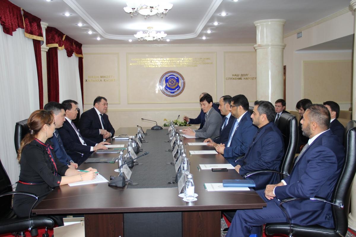 Борцы с коррупцией Казахстана и ОАЭ договорились о сотрудничестве