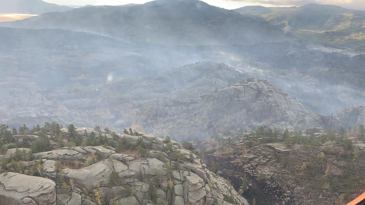 Баянауыл ұлттық паркі аумағындағы өрт ауыздықталды