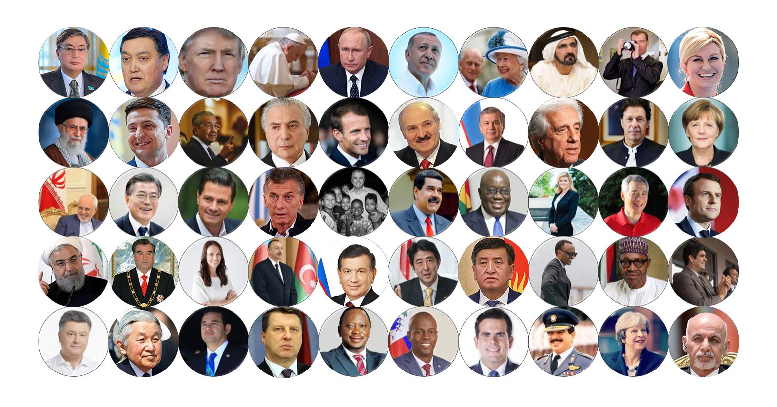 Президенты покоряют Сеть