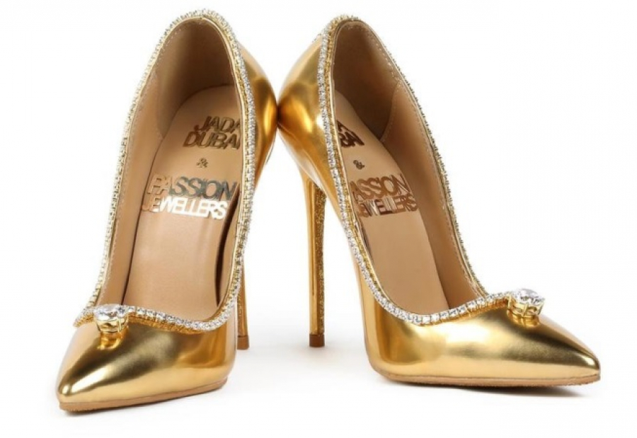 Туфли за 17 млн долларов будут показаны в Дубае, Обувь из золота, Дубаи