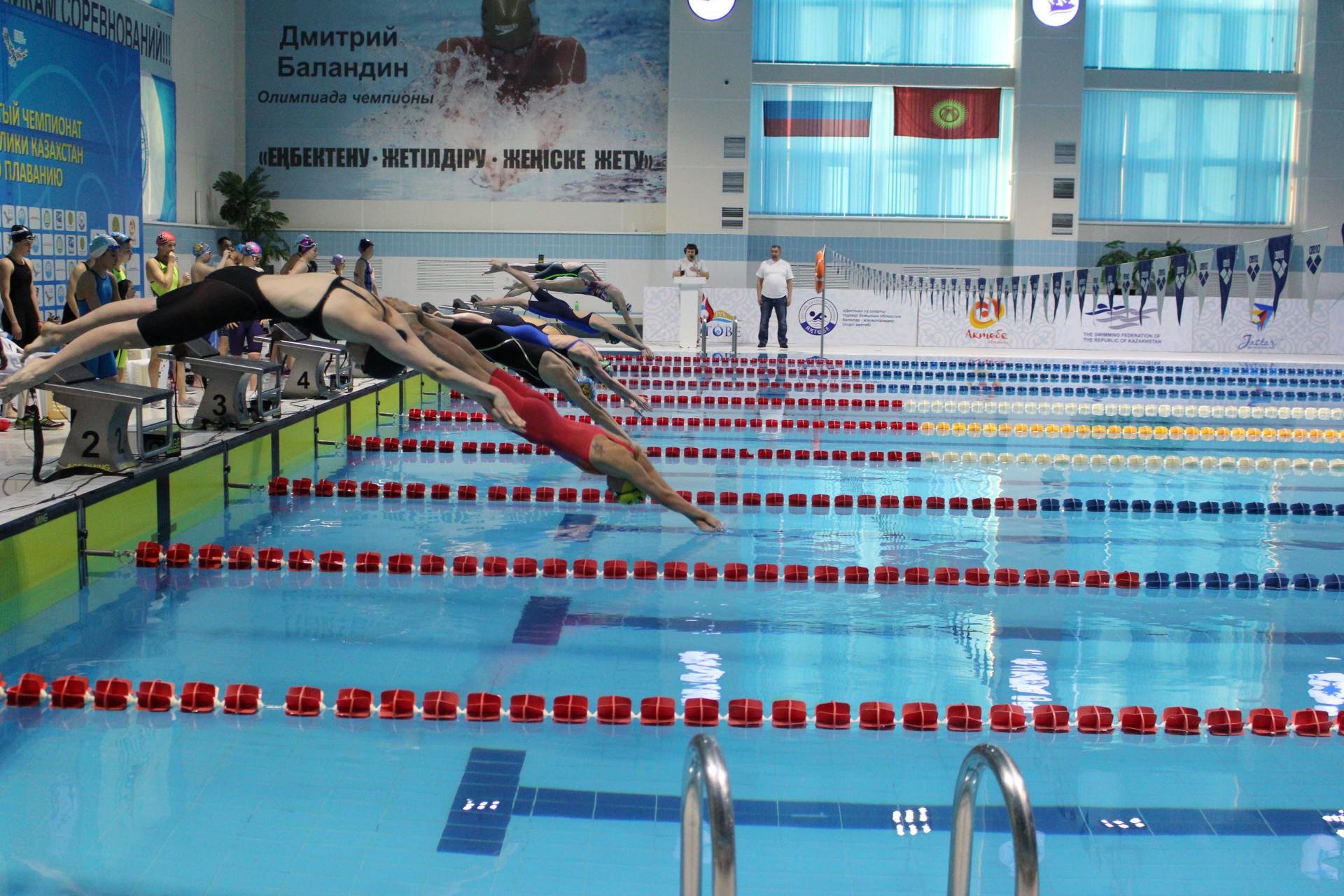 Установлен новый рекорд Казахстана по плаванию