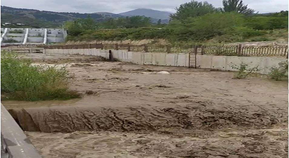 ТЖД: Алматыдағы сел қаупіне алаңдауға негіз жоқ