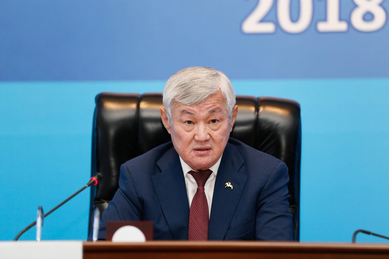 Досье: Сапарбаев Бердибек Машбекович, Бердибек Сапарбаев