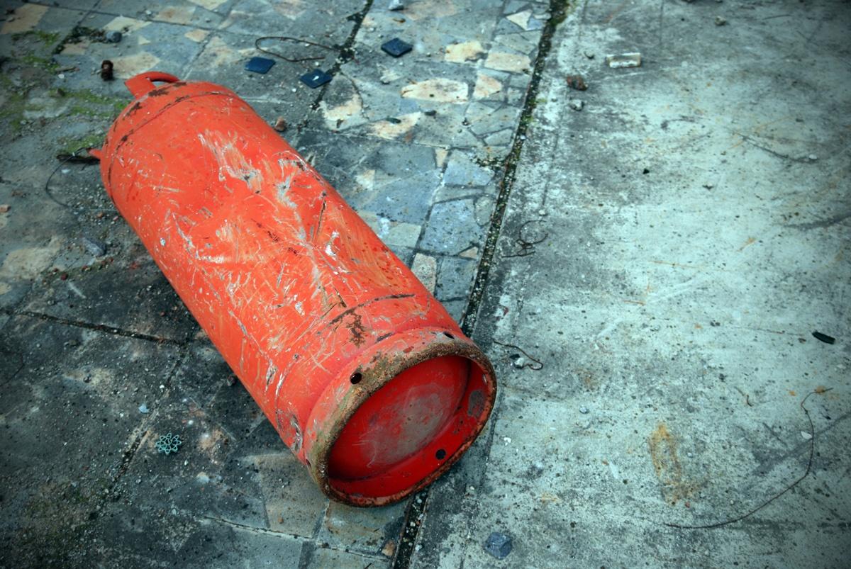 Здание обрушилось в Астане из-за взрыва газового баллона , здание, Астана, взрыв, Газовый баллон