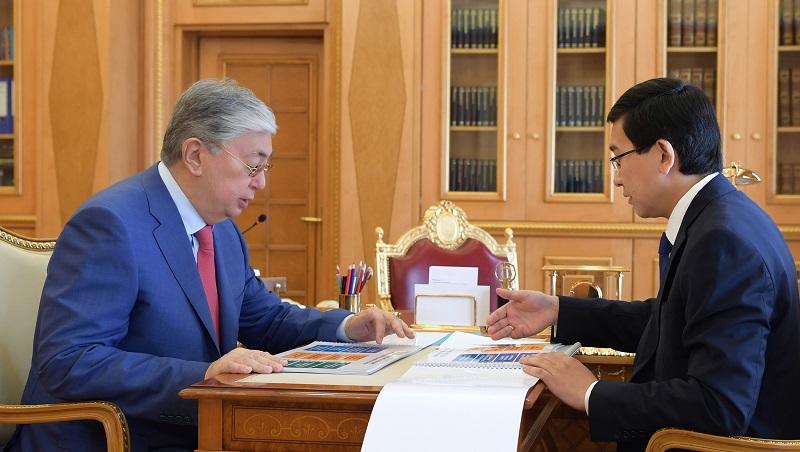 Президенту РК рассказали о новой госпрограмме развития образования