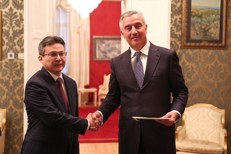 Посол Казахстана приступил к работе в Черногории