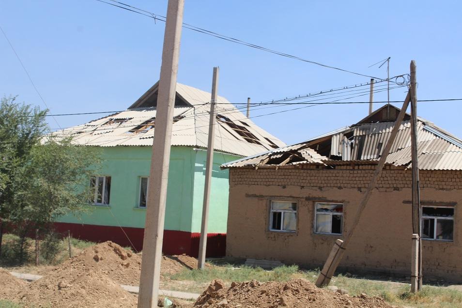 Из резерва Правительства выделят средства для помощи пострадавшим в Арыси