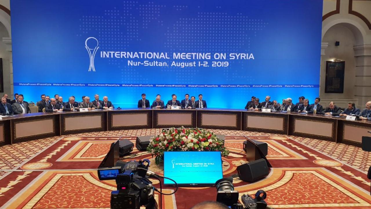 Участники астанинского процесса по Сирии пока не обращались с просьбой о площадке для переговоров