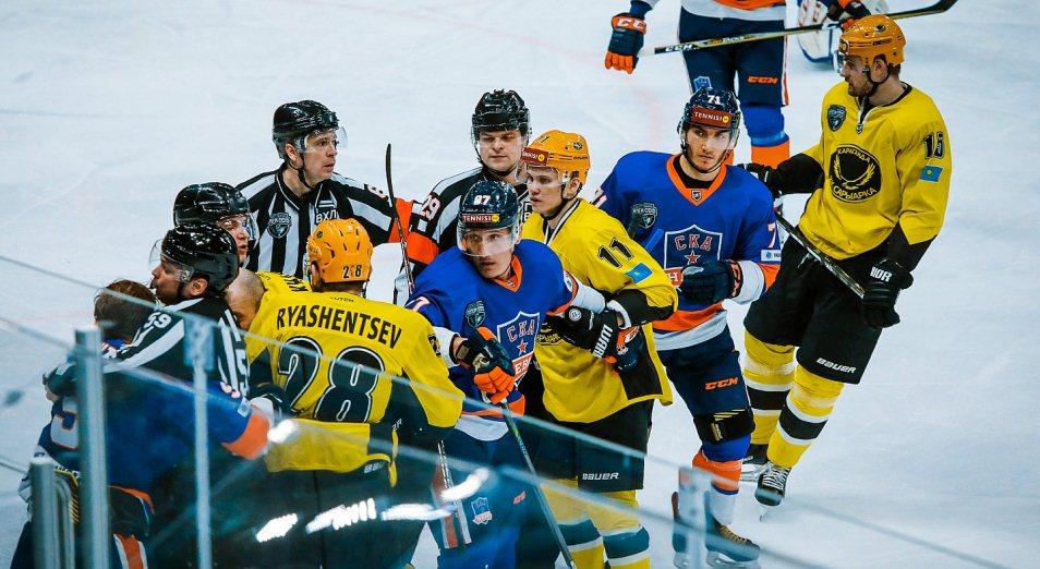 «Сарыарка» в третий раз стала финалистом плей-офф ВХЛ