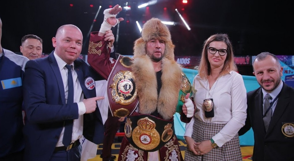 Ербосынулы защитил свои титулы в Красноярске