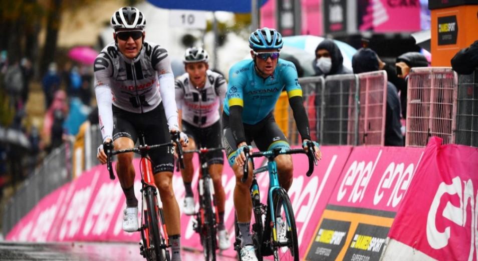 «Джиро д'Италия»: Фульсанг сокращает отставание от лидеров генерале