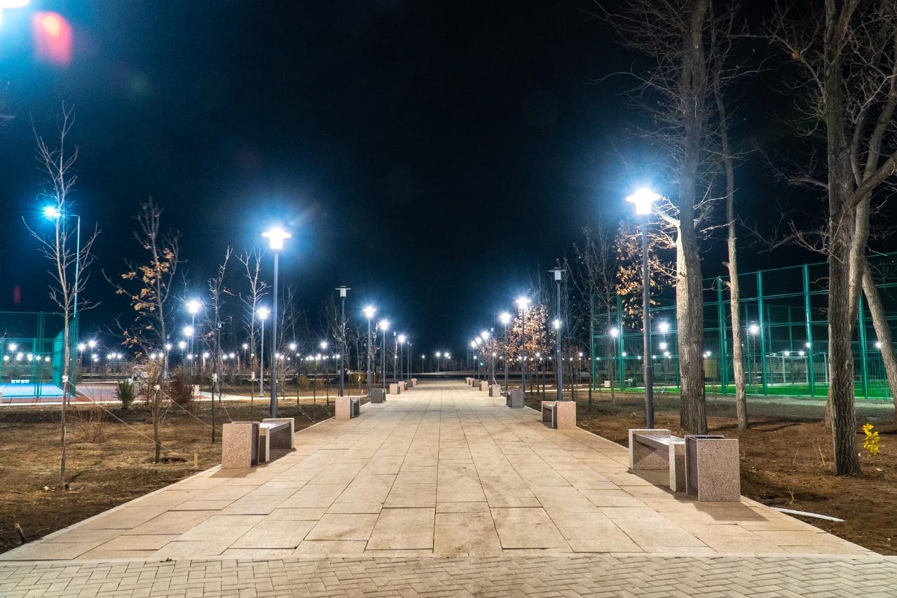Парк на 16 гектаров открыли в жилом массиве Нур-Султана