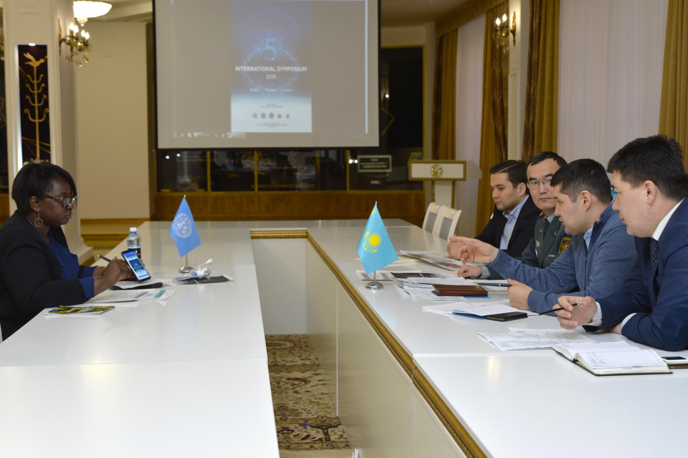 Вопросы предстоящего V-го Международного Симпозиума по партнерству в технологиях для миротворчества обсудили в Нур-Султане
