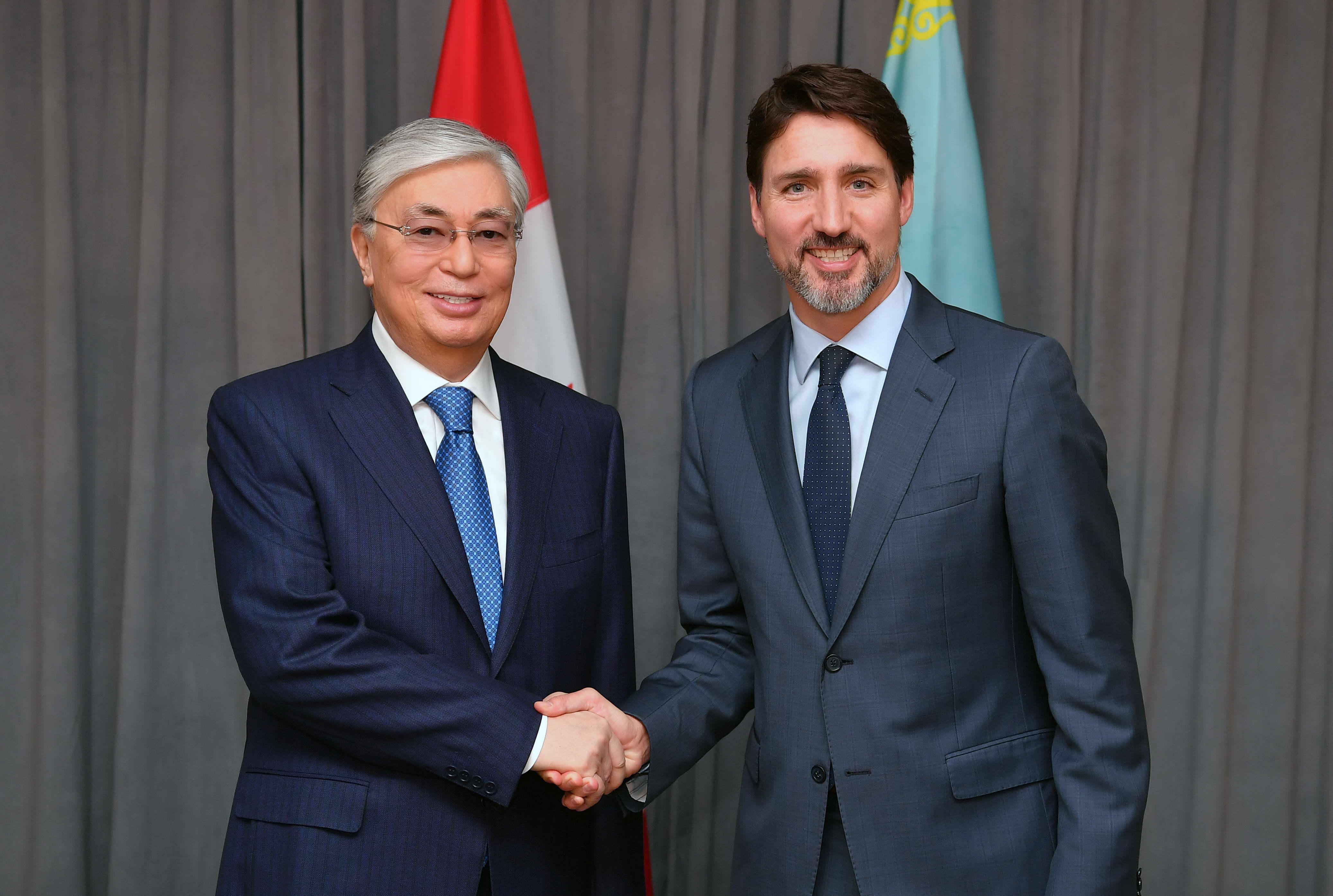 Мемлекет басшысы Канаданың Премьер-Министрімен кездесу өткізді