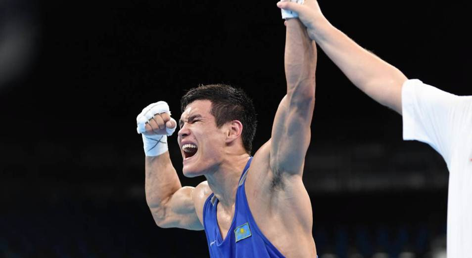 Елеусинов одержал вторую победу в профи, Бокс, Спорт, Данияр Елеусинов